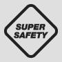 безопасен за употреба в мокри помещения